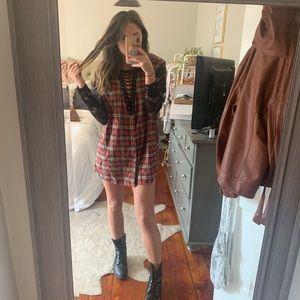 LF Furst Of a Kind Flannel dress